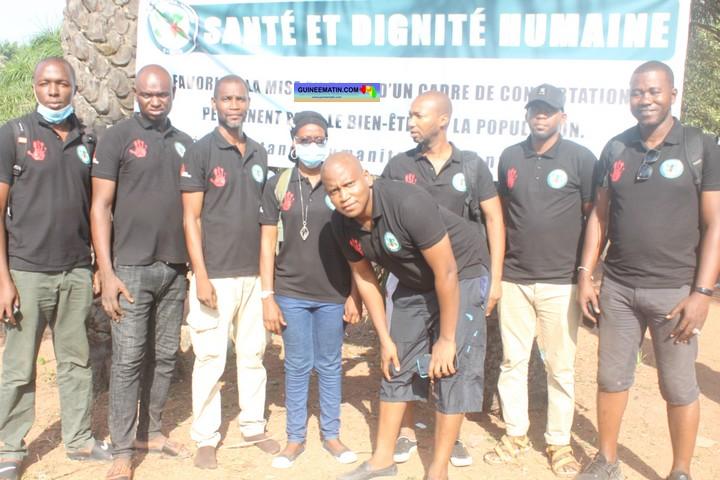 Fight AIDS: Santa at Dignite Humain NGO launches screening campaign in Kassa-Guinea Matin