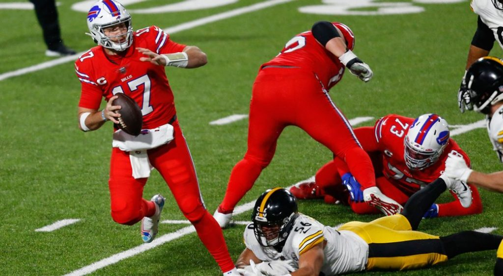 Allen, the bills earn a statement victory over the Steelers