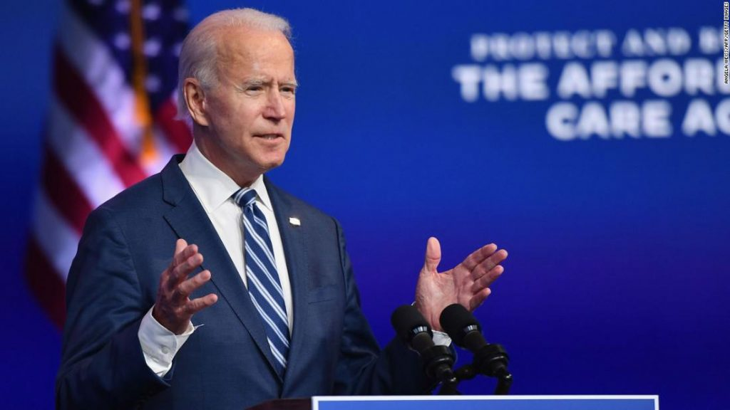 Biden announces new cabinet and top administration options
