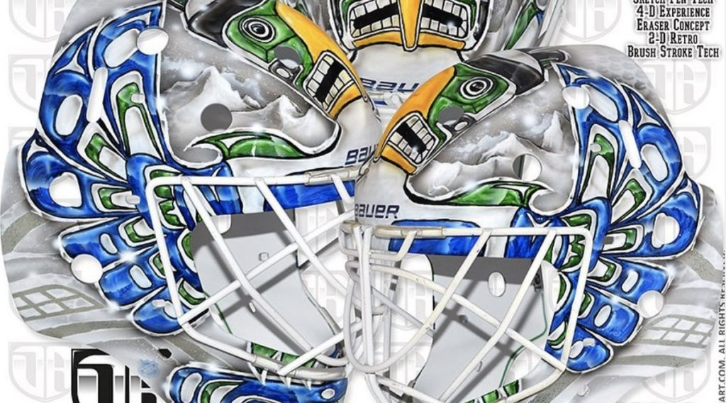 Canucks Holtby apologizes for goalie mask facing cultural allocation allegations