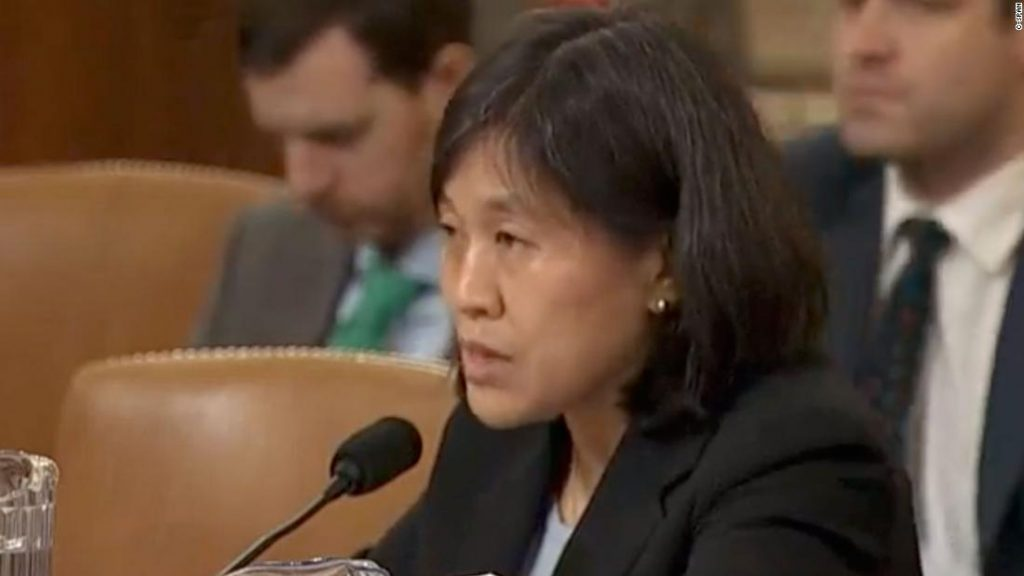 Catherine Tai: Biden Tai is expected to be nominated to serve as US Trade Representative.