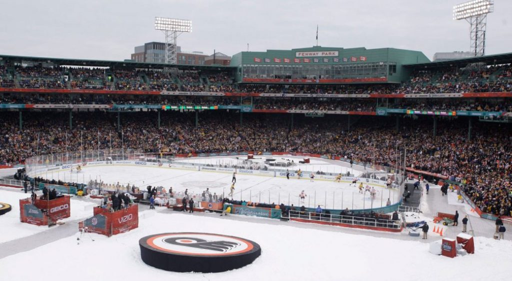 Four NHL teams are looking for an opportunity to play outdoor home games