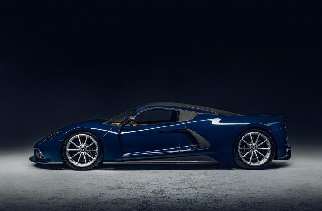 Hennessy unveils Venom F5 hyper sports car