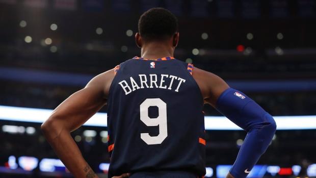 RJ Barrett on the rookie team: 'It hurt me a lot'