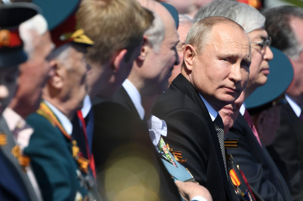 Russian President Vladimir Putin has congratulated Joe Biden on his election victory