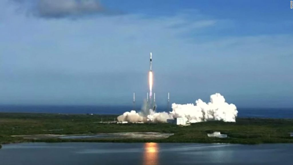 SpaceX successfully launches satellite days after another rocket crashes in Texas