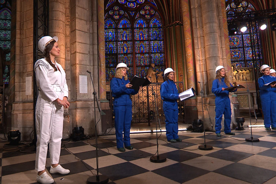 Special concert for Christmas Eve at the Cathedral of Notre Dame de Paris