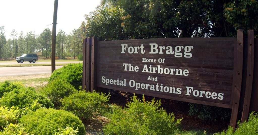 The decorated soldier was identified as one of two bodies found at Fort Bragg