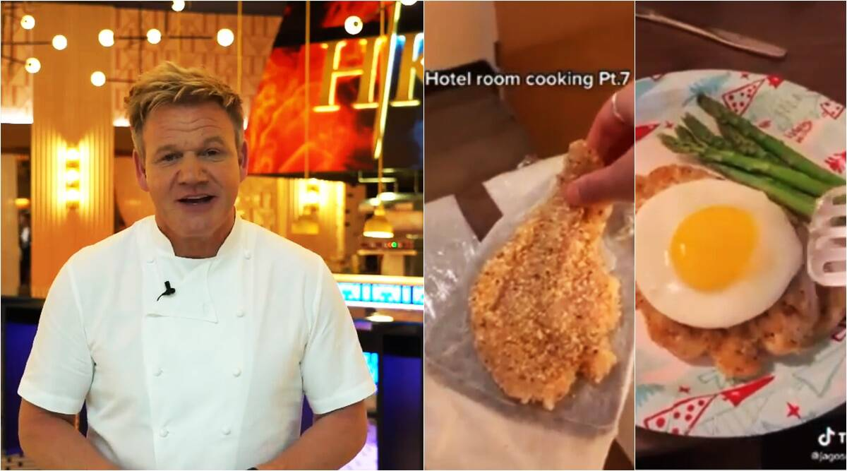 Gordon Ramsay, Gordon Ramsay React, Cornwall Chef Cook With Hotel Equipment, Tick Tock Chef Cook With Hotel Gadgets, Chef Cook With Hotel Equipment, Chef Quarantine Meal, Chef Isolation Kitchen Meal, Jago Randles Quarantine, Chef Cook Indra With Hotel Equipment, Video