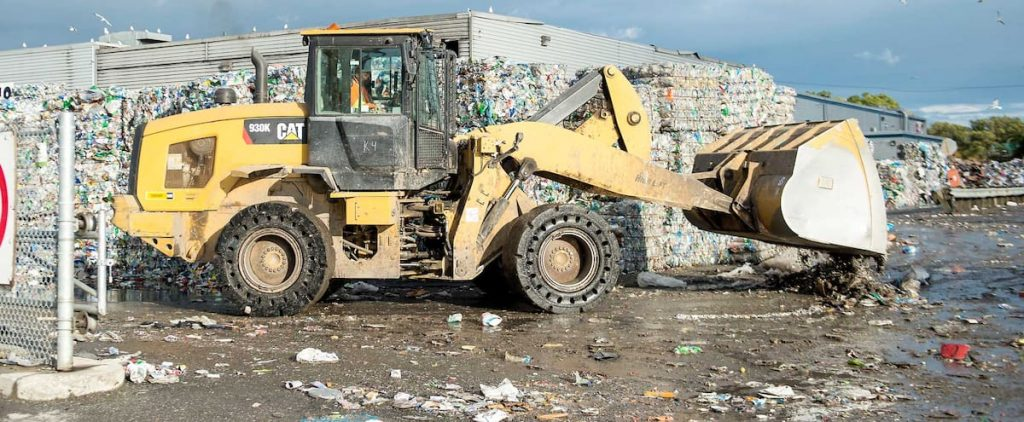 Unwanted materials in sorting centers