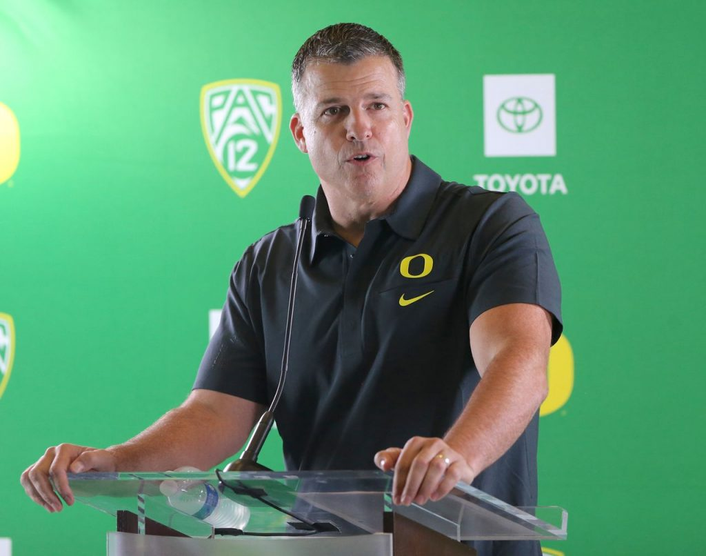 What Mario Cristobal said about Oregon facing the US in the Pac-12 Championship Game, Auburn Rumors