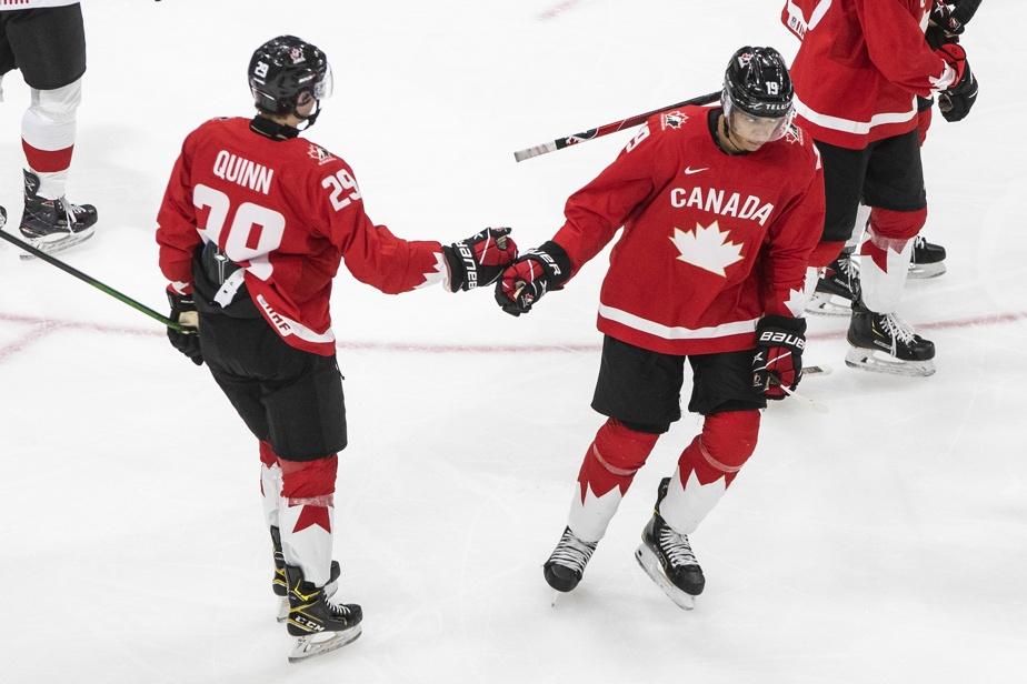 World Junior    Byfield and Canada crushed Switzerland