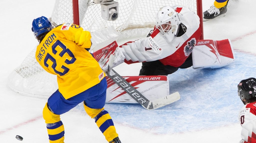 World Juniors: Austria does not match Sweden