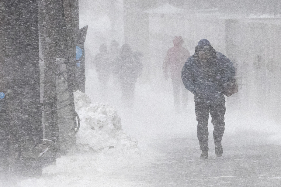 15 to 30 cm expected back |  The blizzard forecast was confirmed this weekend