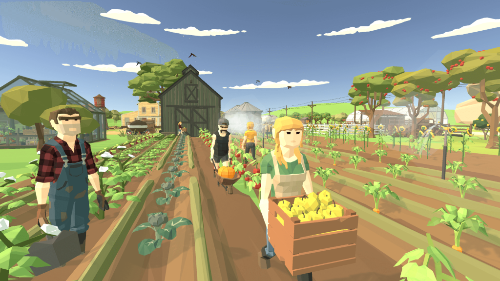 Harvest Days: The first films of the indie game