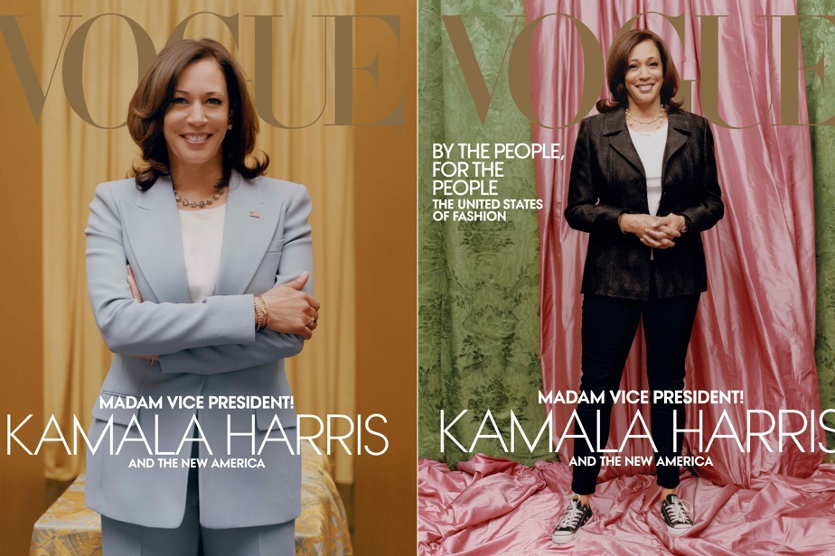 Vogue has released a new version of its Kamala Harris issue