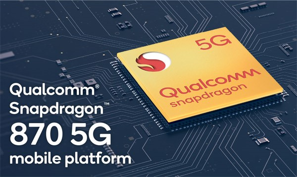 Qualcomm Snapdargon 870 5G