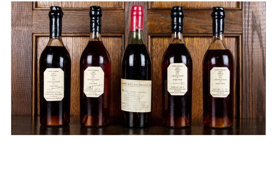 1777 Cognac at auction