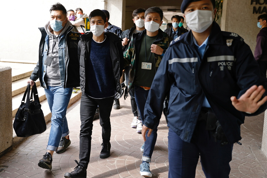 Beijing stepped up repression in Hong Kong