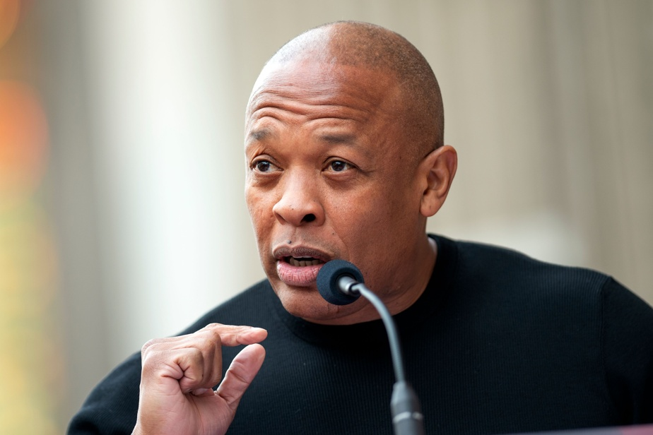 """Dr Dre, a rapper and producer who was hospitalized, said he was """"well""""."""
