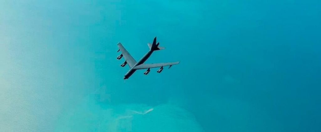 Iran: An American bomber's new flyby in the Gulf