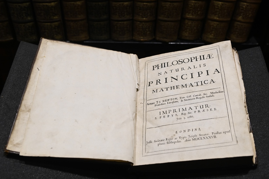 Rare Isaac Newton book in three Canadian libraries