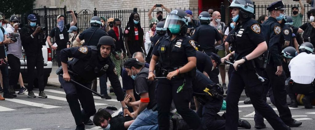 Suppression of anti-racist protesters: New York prosecutor attacks New York police