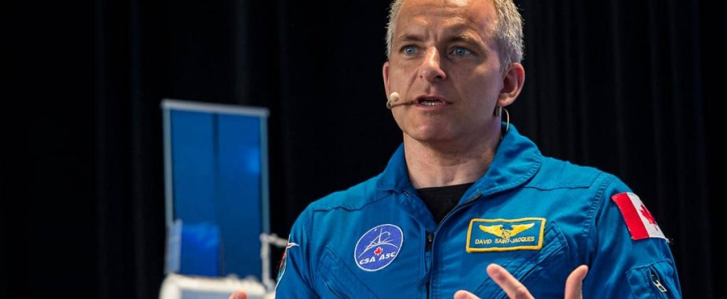 To help during the pandemic: Astronaut David Saint-Jacques goes back to the medicine house