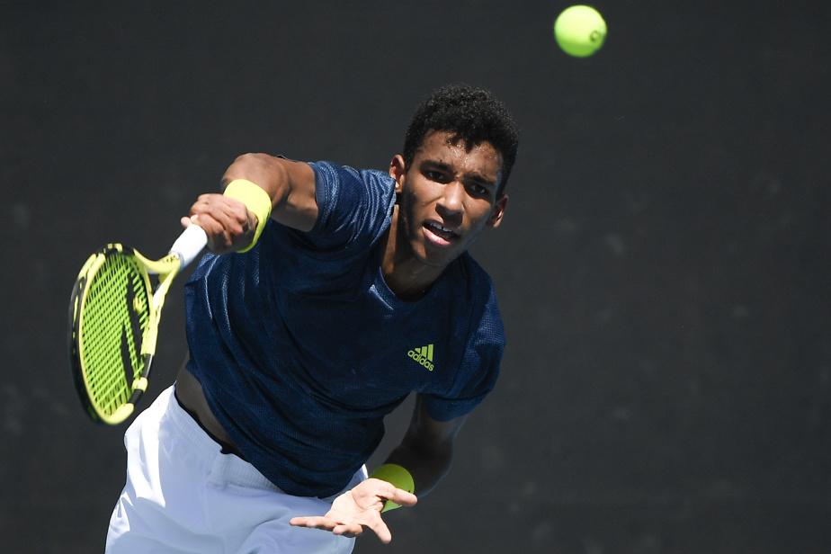Australian Open    Successful victory for Felix Agar-aliasim