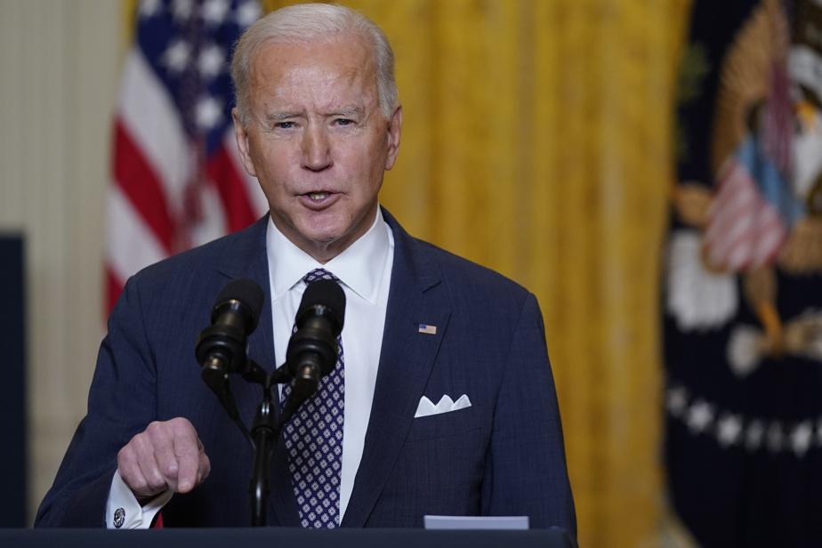 """The United States is back,"" said Joe Biden"