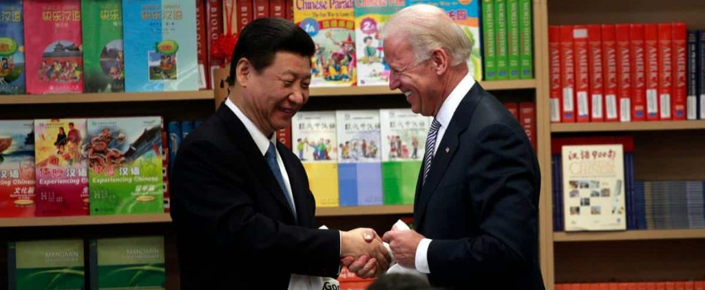 """Biden said he wanted """"intense competition"""" with China, but there was no dispute"""