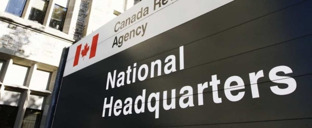 Canada Revenue Agency: Many accounts are locked