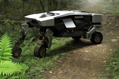 Hyundai unveils robotic version of rolling, crawling vehicle