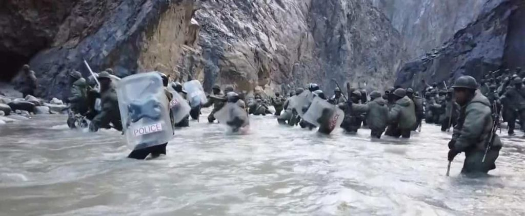India and China complete the deployment of their troops on the Himalayan border
