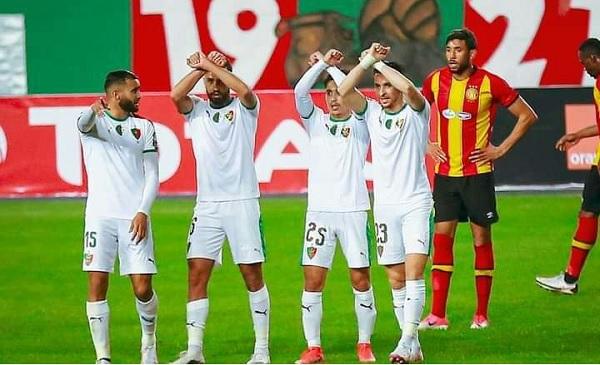 MC Alger 1-1 ES Tunis, MCA allows two points to slip