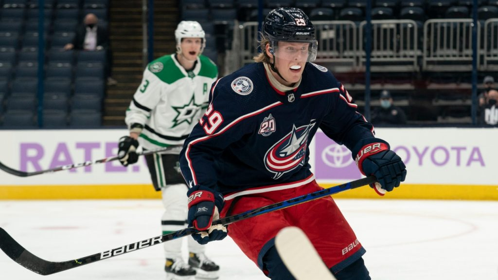 NHL: With the victory over the Stars, Patrick Line scored his first goal with the Jackets