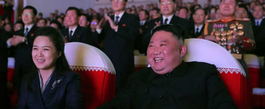 North Korea: Kim Jong Un's wife appeared in public for the first time this year