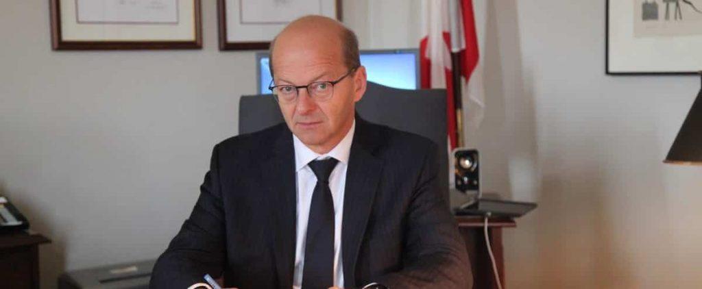 Report on Julie Payet: Senator Claude Carrignon complains