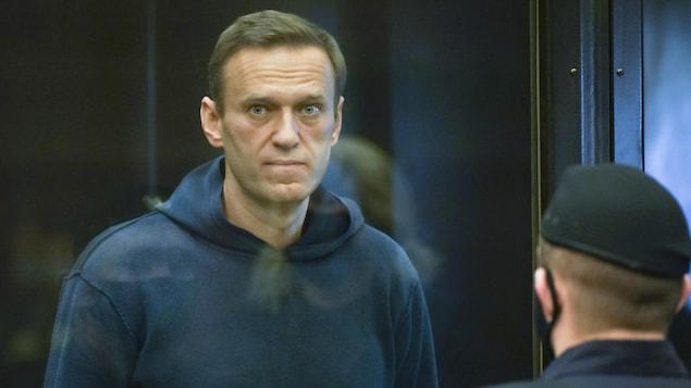 Alexeï Navalny. Photo fournie par le tribunal de Moscou.