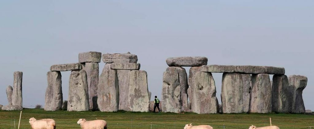 The study found that Stonehenge was built from the Welsh megalithic site