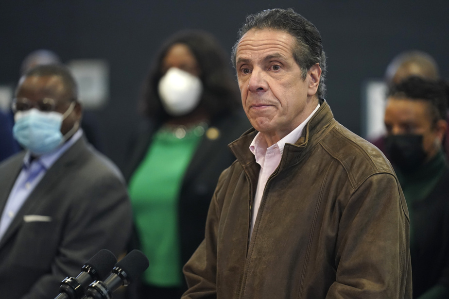 Inappropriate behavior    A third woman has accused the New York governor