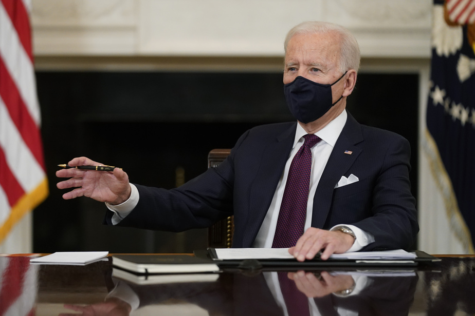 The first opportunity for Biden to identify the justice system