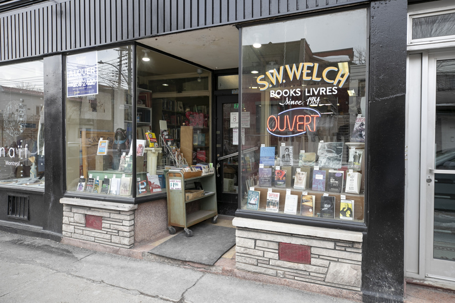 Mile End |  Louis Penny SW Welch threatened to close the bookstore