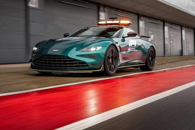 Aston Martin |  F1 Safety car unveiled