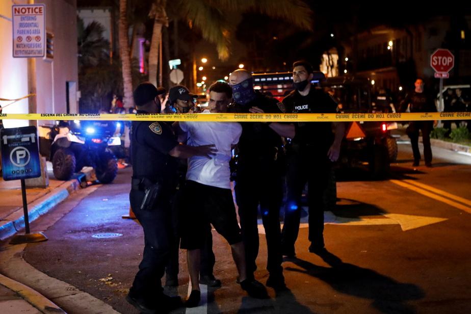 Imposed a curfew on Miami Beach Revelers