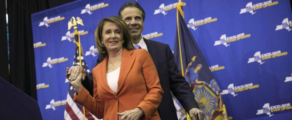 Biden and Pelosi call for resignation of New York governor
