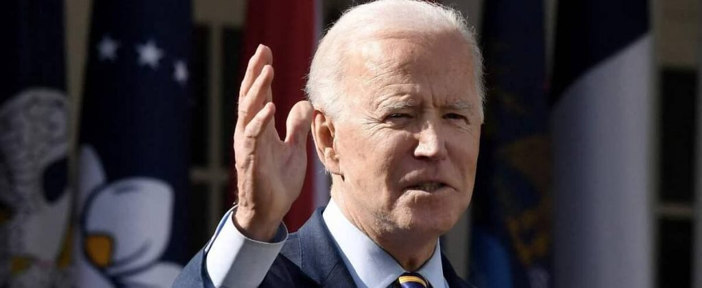 Biden blamed the immigration crisis in the southern United States