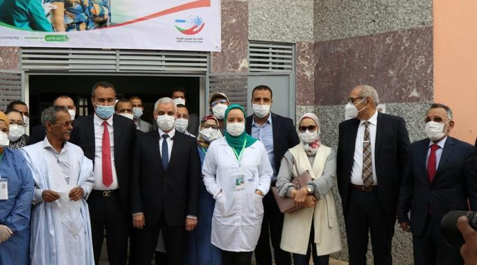 Dakhla: Eight Talib visited two vaccination stations against Kovid-19