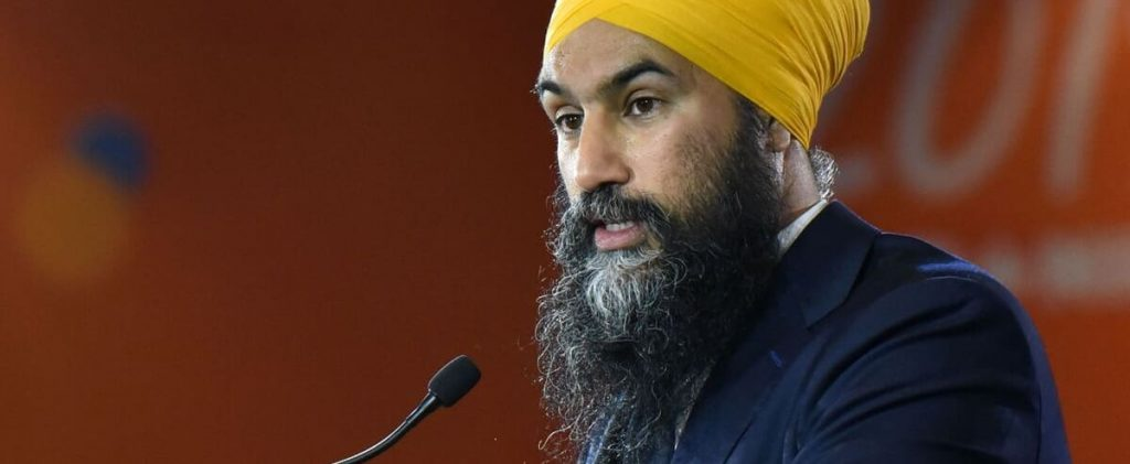 For Singh, throwing up Quebec doesn't matter