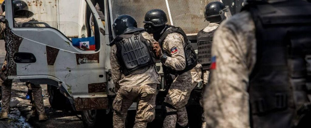 Haiti: Four police officers have been killed as a result of an anti-gang operation
